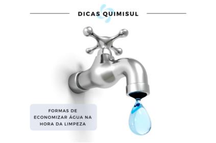 10 maneiras de economizar água.