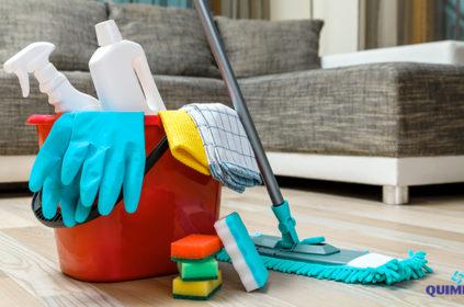 Como usar corretamente produtos de limpeza?
