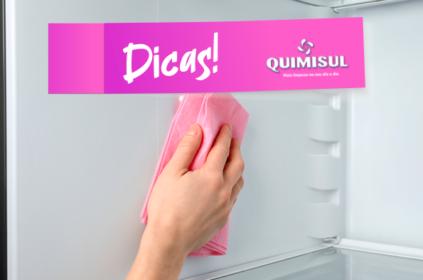 Aprenda a limpar sua geladeira corretamente