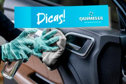 Deixe seu carro limpo e previna vírus e bactérias