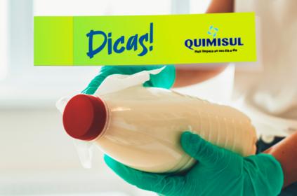 Como desinfectar compras e produtos do supermercado