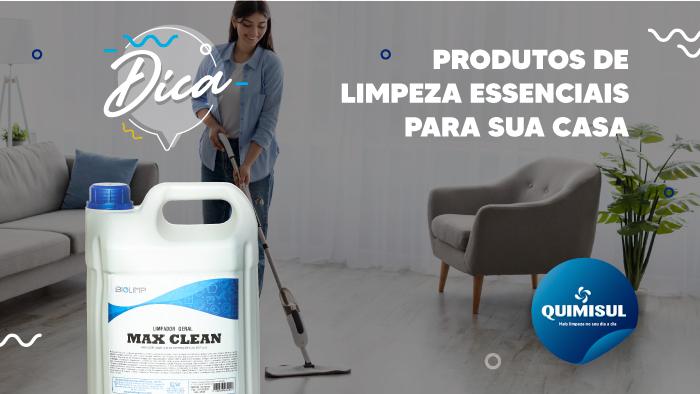 Produtos de Limpeza Essenciais para sua Casa